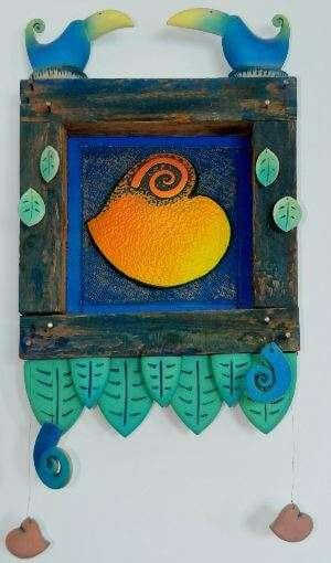 Sarah Cox Love heart and Birds