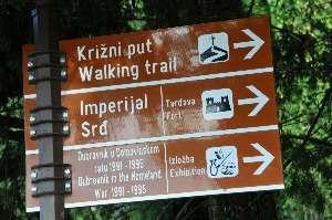 Direction for Mount Srd Footpath