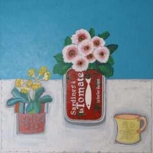 Sardine and Flowers