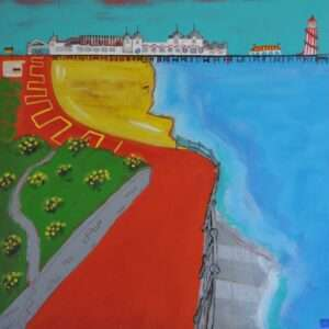 Southsea Beach painting