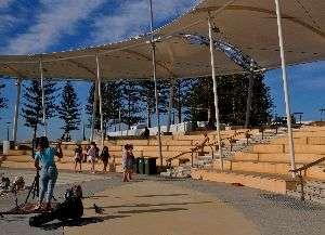 Scarborough Beach Music area